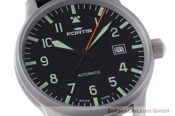 Used luxury watch Fortis Flieger steel automatic Kal. ETA 2824-2 Ref. 595.10.46  | 153566 02