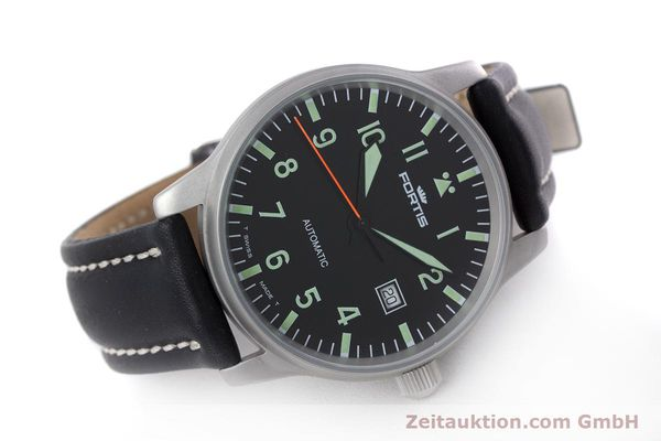 Used luxury watch Fortis Flieger steel automatic Kal. ETA 2824-2 Ref. 595.10.46  | 153566 03