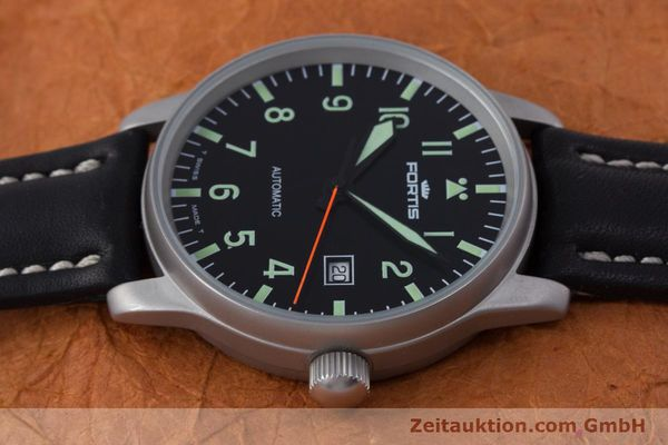Used luxury watch Fortis Flieger steel automatic Kal. ETA 2824-2 Ref. 595.10.46  | 153566 05