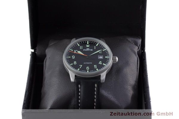 Used luxury watch Fortis Flieger steel automatic Kal. ETA 2824-2 Ref. 595.10.46  | 153566 07