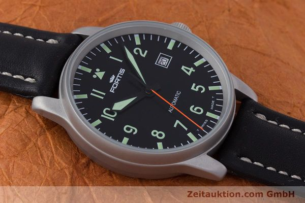 Used luxury watch Fortis Flieger steel automatic Kal. ETA 2824-2 Ref. 595.10.46  | 153566 14
