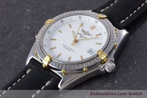 Used luxury watch Breitling Antares steel / gold automatic Kal. B10 ETA 2892 A2 Ref. B10048  | 153569 01