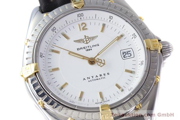 Used luxury watch Breitling Antares steel / gold automatic Kal. B10 ETA 2892 A2 Ref. B10048  | 153569 02