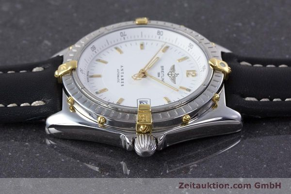Used luxury watch Breitling Antares steel / gold automatic Kal. B10 ETA 2892 A2 Ref. B10048  | 153569 05