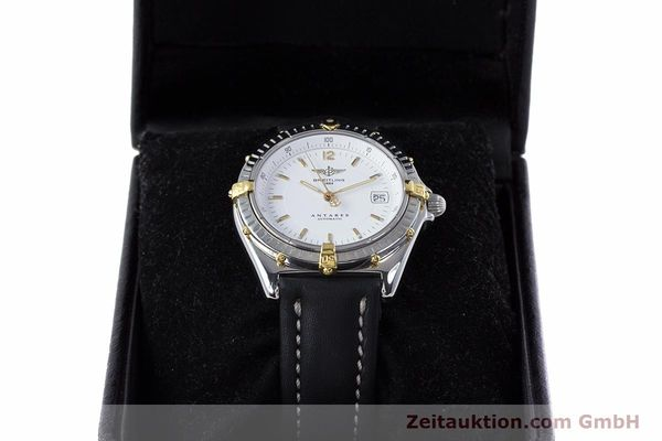 Used luxury watch Breitling Antares steel / gold automatic Kal. B10 ETA 2892 A2 Ref. B10048  | 153569 07