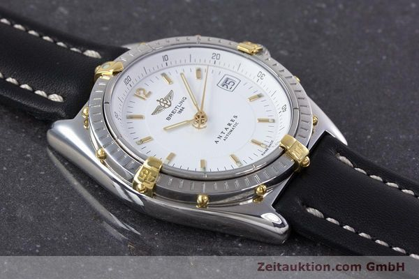 Used luxury watch Breitling Antares steel / gold automatic Kal. B10 ETA 2892 A2 Ref. B10048  | 153569 13