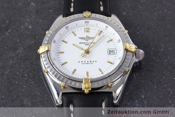 Used luxury watch Breitling Antares steel / gold automatic Kal. B10 ETA 2892 A2 Ref. B10048  | 153569 14