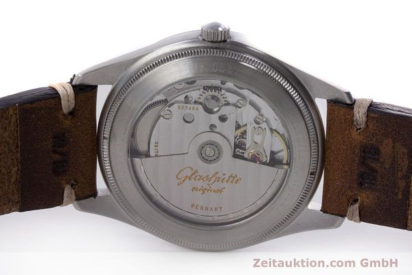 Used luxury watch Glashütte Navigator steel automatic Kal. GUB 10-30  | 153572 09