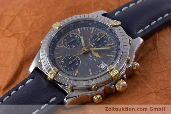 Used luxury watch Breitling Chronomat chronograph steel / gold automatic Kal. B13 ETA 7750 Ref. B13050.1  | 153578 01