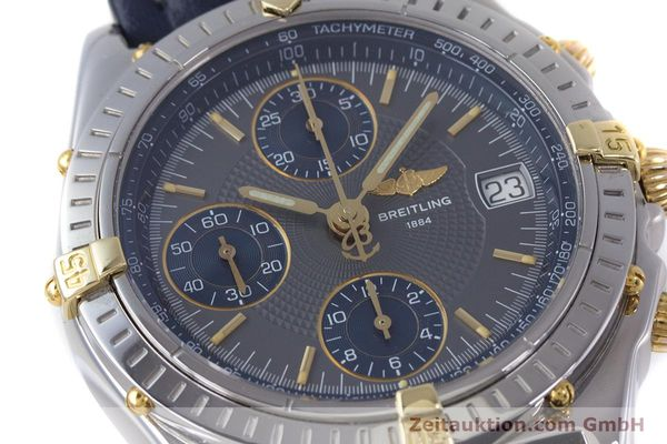 Used luxury watch Breitling Chronomat chronograph steel / gold automatic Kal. B13 ETA 7750 Ref. B13050.1  | 153578 02