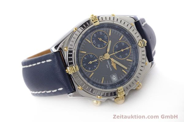 Used luxury watch Breitling Chronomat chronograph steel / gold automatic Kal. B13 ETA 7750 Ref. B13050.1  | 153578 03