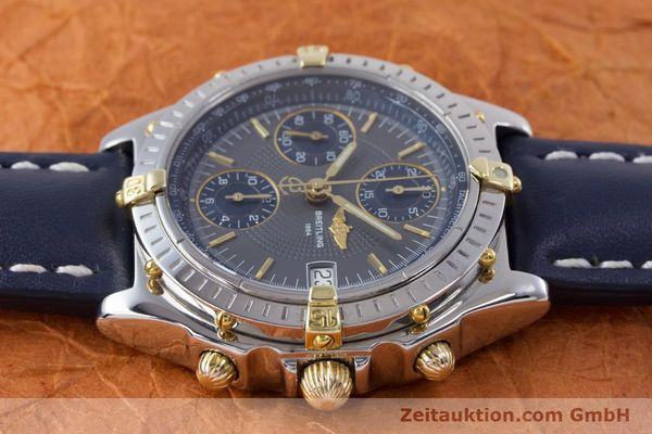 Used luxury watch Breitling Chronomat chronograph steel / gold automatic Kal. B13 ETA 7750 Ref. B13050.1  | 153578 05