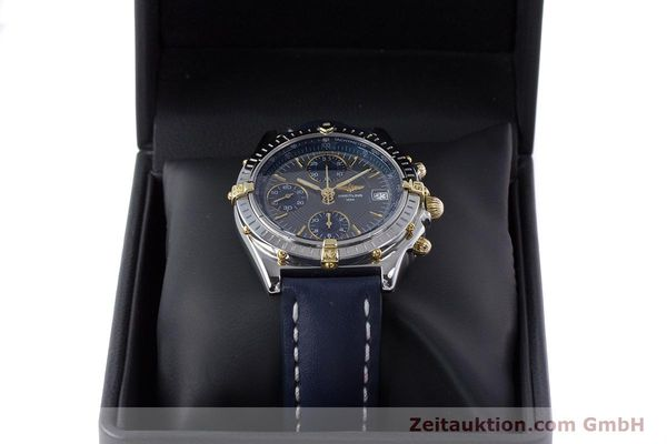Used luxury watch Breitling Chronomat chronograph steel / gold automatic Kal. B13 ETA 7750 Ref. B13050.1  | 153578 07