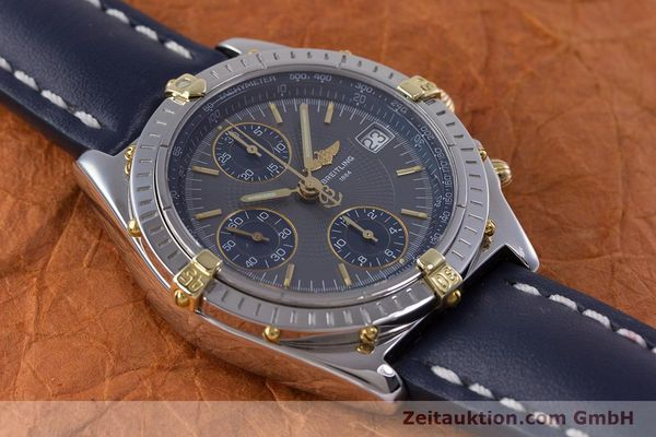 Used luxury watch Breitling Chronomat chronograph steel / gold automatic Kal. B13 ETA 7750 Ref. B13050.1  | 153578 14
