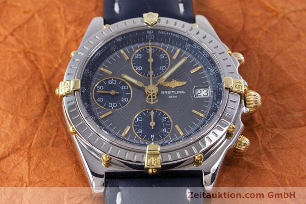 Used luxury watch Breitling Chronomat chronograph steel / gold automatic Kal. B13 ETA 7750 Ref. B13050.1  | 153578 15