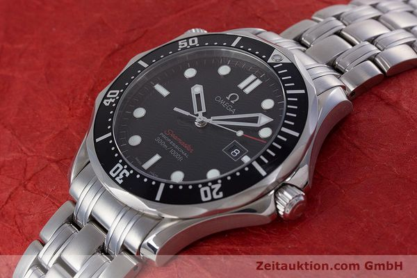 Used luxury watch Omega Seamaster steel quartz Kal. 1538 Ref. 21230416101001  | 153581 01