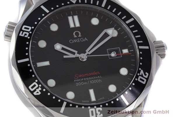 Used luxury watch Omega Seamaster steel quartz Kal. 1538 Ref. 21230416101001  | 153581 02