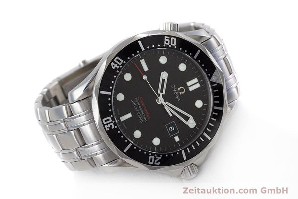 Used luxury watch Omega Seamaster steel quartz Kal. 1538 Ref. 21230416101001  | 153581 03