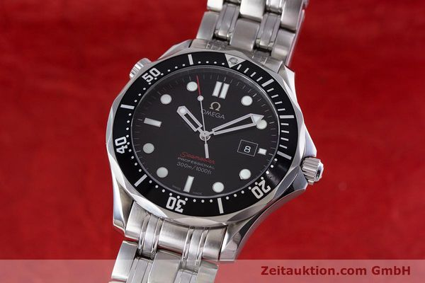 Used luxury watch Omega Seamaster steel quartz Kal. 1538 Ref. 21230416101001  | 153581 04