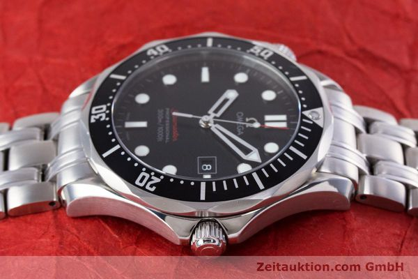Used luxury watch Omega Seamaster steel quartz Kal. 1538 Ref. 21230416101001  | 153581 05