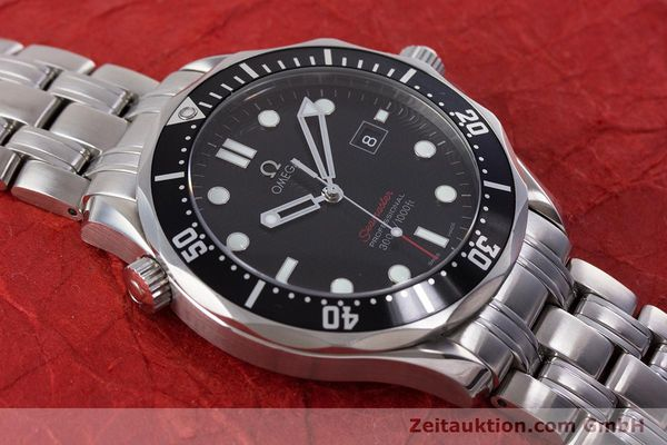 Used luxury watch Omega Seamaster steel quartz Kal. 1538 Ref. 21230416101001  | 153581 15