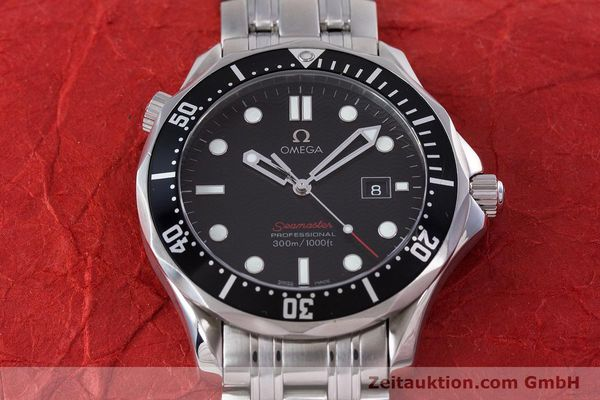 Used luxury watch Omega Seamaster steel quartz Kal. 1538 Ref. 21230416101001  | 153581 16