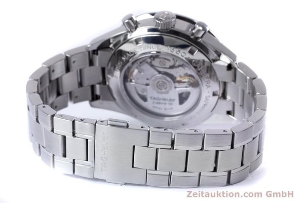 Used luxury watch Tag Heuer Carrera chronograph steel automatic Kal. 16 ETA 7750 Ref. CV2010-3  | 153584 11