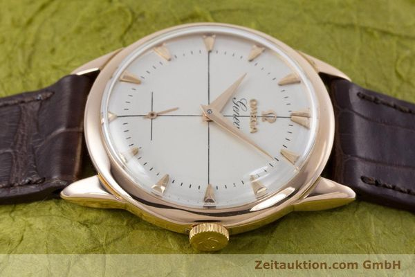 Used luxury watch Omega * 18 ct red gold manual winding Kal. 267 VINTAGE  | 153598 05