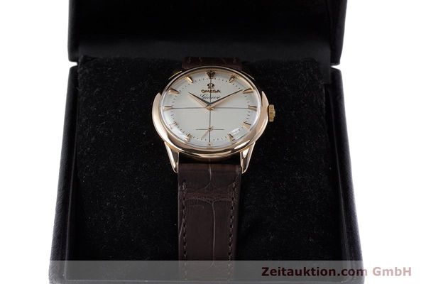 Used luxury watch Omega * 18 ct red gold manual winding Kal. 267 VINTAGE  | 153598 07