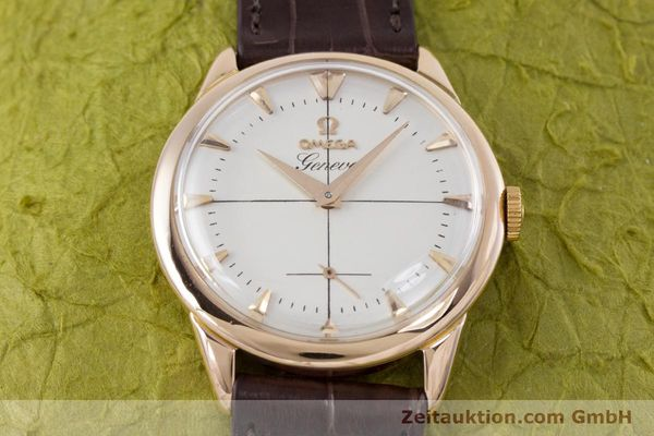 Used luxury watch Omega * 18 ct red gold manual winding Kal. 267 VINTAGE  | 153598 14