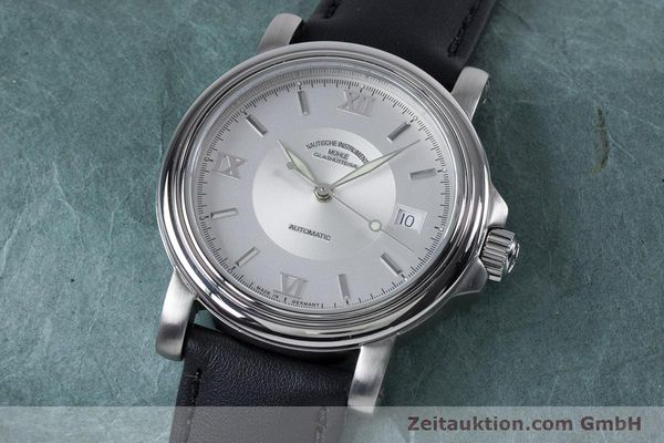 Used luxury watch Mühle Mercurius steel automatic Kal. Sellita SW200-1 Ref. M1-24-20  | 153602 01
