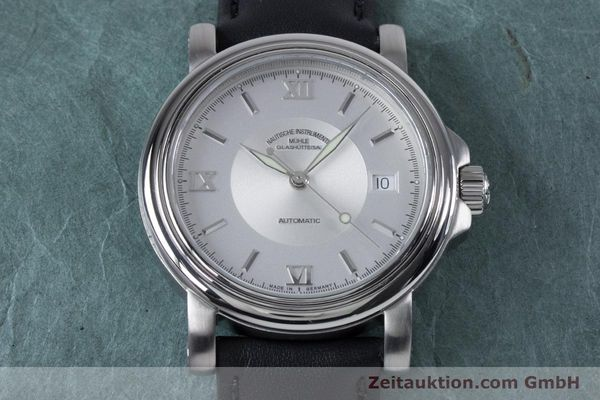Used luxury watch Mühle Mercurius steel automatic Kal. Sellita SW200-1 Ref. M1-24-20  | 153602 15