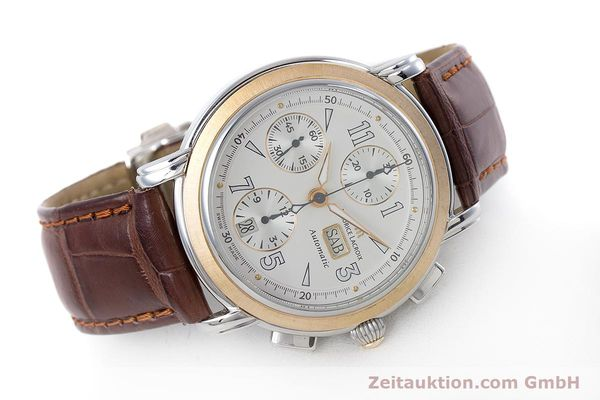 Used luxury watch Maurice Lacroix Masterpiece chronograph steel / gold automatic Kal. ML67 ETA 7750 Ref. 67839  | 153605 03