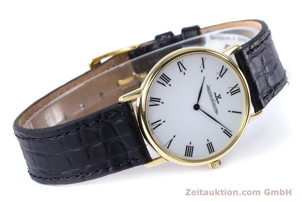 Used luxury watch Jaeger Le Coultre * 18 ct gold quartz Kal. 609 Ref. 140.111.12  | 153612 03