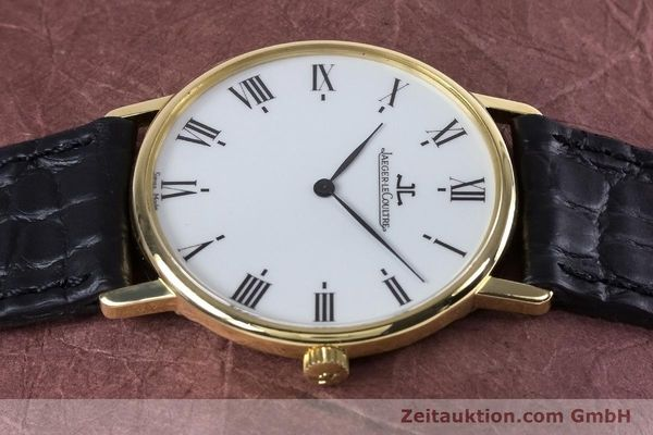 Used luxury watch Jaeger Le Coultre * 18 ct gold quartz Kal. 609 Ref. 140.111.12  | 153612 05