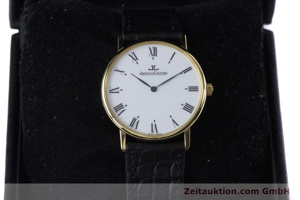 Used luxury watch Jaeger Le Coultre * 18 ct gold quartz Kal. 609 Ref. 140.111.12  | 153612 07
