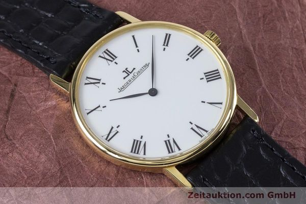 Used luxury watch Jaeger Le Coultre * 18 ct gold quartz Kal. 609 Ref. 140.111.12  | 153612 12
