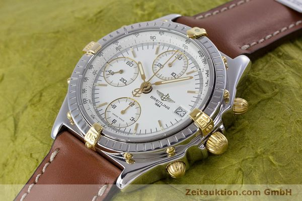 Used luxury watch Breitling Chronomat chronograph steel / gold automatic Kal. B13 ETA 7750 Ref. B13048  | 153613 01