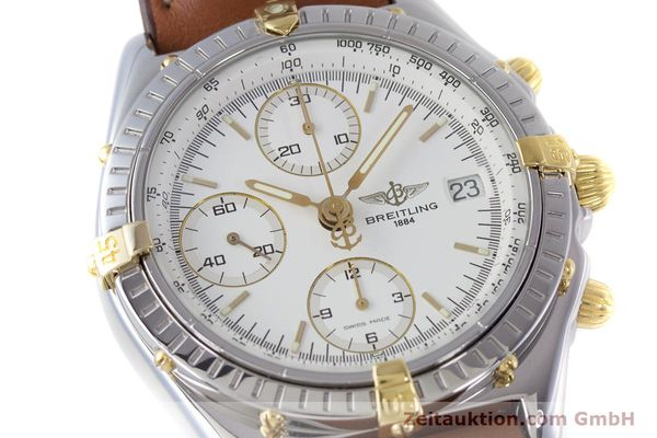 Used luxury watch Breitling Chronomat chronograph steel / gold automatic Kal. B13 ETA 7750 Ref. B13048  | 153613 02