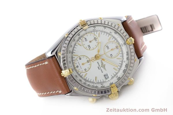 Used luxury watch Breitling Chronomat chronograph steel / gold automatic Kal. B13 ETA 7750 Ref. B13048  | 153613 03