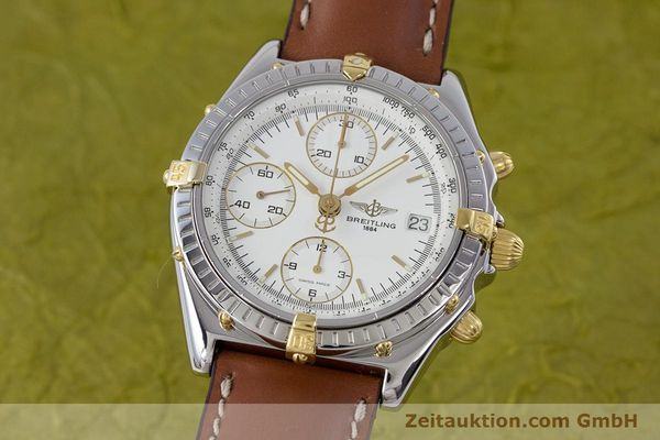 Used luxury watch Breitling Chronomat chronograph steel / gold automatic Kal. B13 ETA 7750 Ref. B13048  | 153613 04