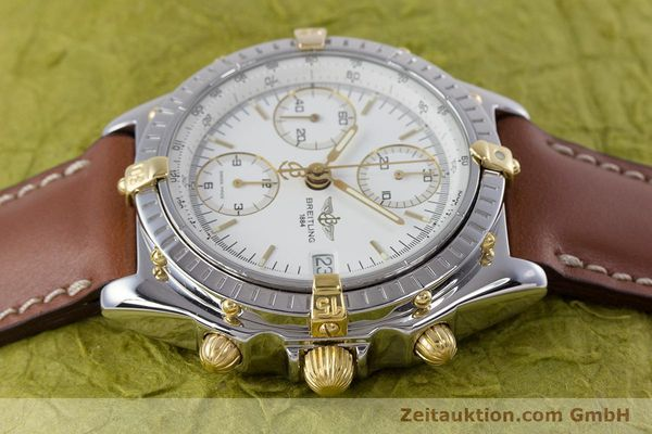 Used luxury watch Breitling Chronomat chronograph steel / gold automatic Kal. B13 ETA 7750 Ref. B13048  | 153613 05