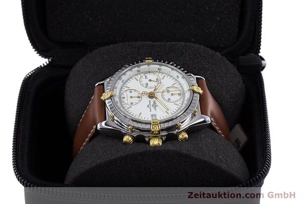 Used luxury watch Breitling Chronomat chronograph steel / gold automatic Kal. B13 ETA 7750 Ref. B13048  | 153613 07