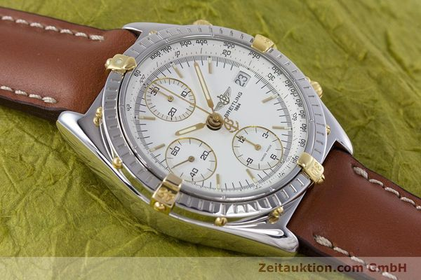 Used luxury watch Breitling Chronomat chronograph steel / gold automatic Kal. B13 ETA 7750 Ref. B13048  | 153613 13