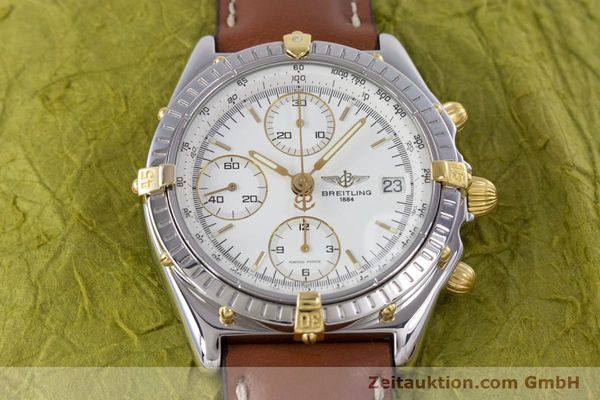Used luxury watch Breitling Chronomat chronograph steel / gold automatic Kal. B13 ETA 7750 Ref. B13048  | 153613 14