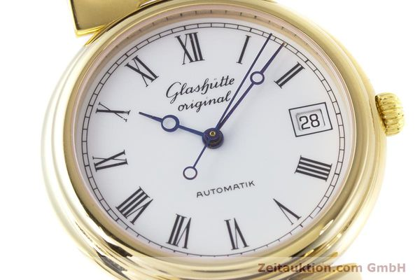 Used luxury watch Glashütte * gold-plated automatic Kal. GUB 10-30  | 153616 02
