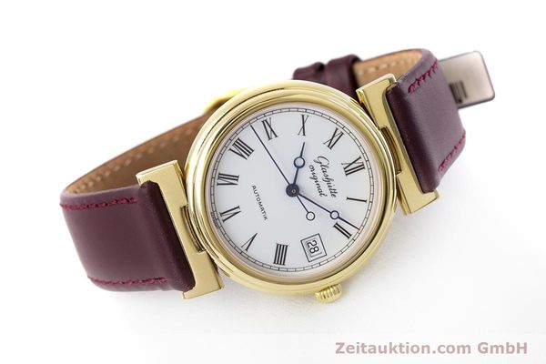 Used luxury watch Glashütte * gold-plated automatic Kal. GUB 10-30  | 153616 03