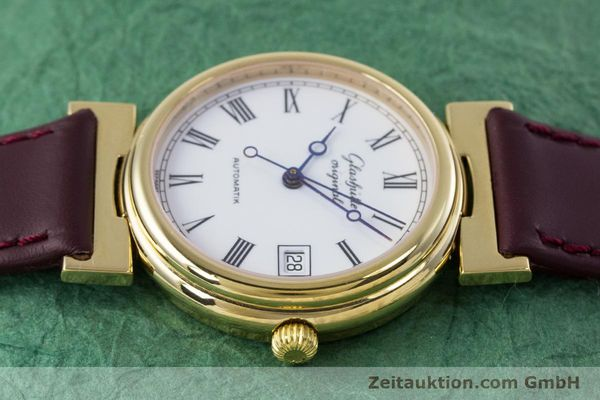 Used luxury watch Glashütte * gold-plated automatic Kal. GUB 10-30  | 153616 05