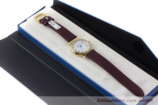 Used luxury watch Glashütte * gold-plated automatic Kal. GUB 10-30  | 153616 07