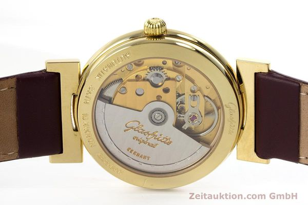 Used luxury watch Glashütte * gold-plated automatic Kal. GUB 10-30  | 153616 09